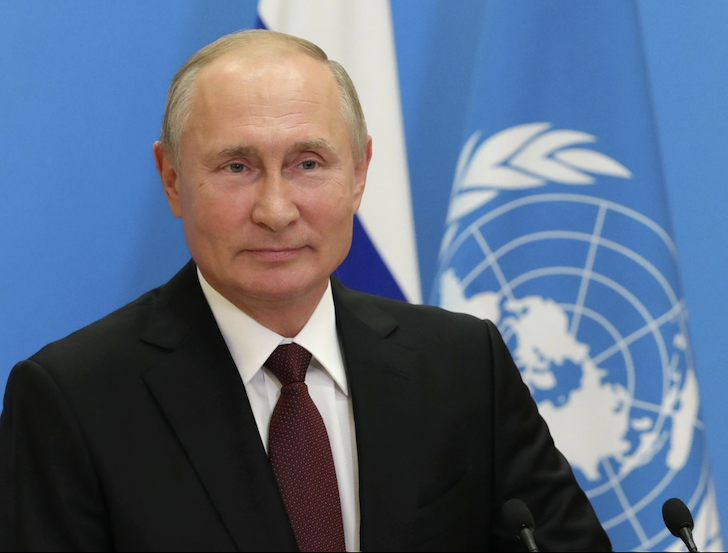 Russia proposes signing binding paper banning deployment of weapons in space, says Putin