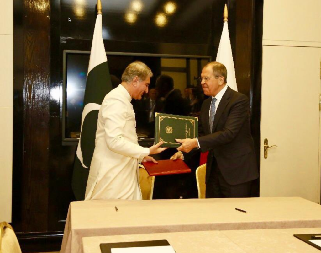 Pakistan and Russia sign Joint Statement on No First Placement of Weapons in Outer Space